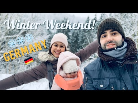 WINTER IN GERMANY 2019 | FAMILY WEEKEND GETAWAY | TRAVEL VLOG