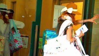 白い服、白いカバン 【訂正】蒼井美紀×➡蒼井美樹〇 2017.5.26Filming SN...