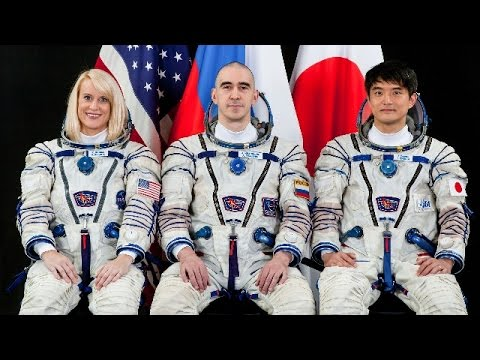 LIVE: 48/49th ISS crew hold press conference from Houston
