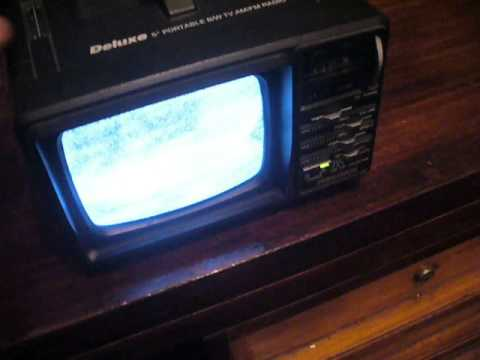 Radio / Televisor Portatil PRECISION
