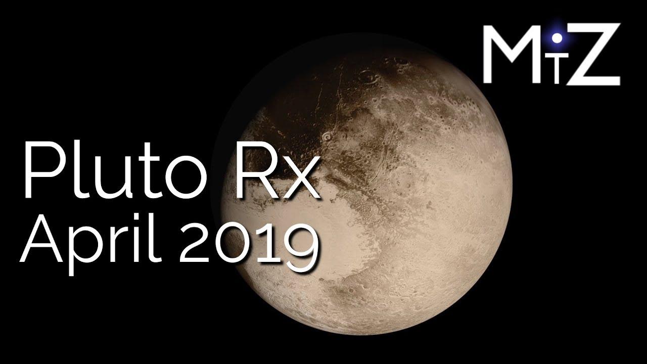 Pluto Retrograde Wednesday April 24th 2019 - True Sidereal Astrology