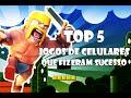 TOP 5: JOGOS DE CELULARES QUE FIZERAM SUCESSO - TecNoob