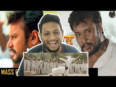 Darshan Mass Fight Scene I Chowka I NorthIndian Reaction Review I Prajwal Devaraj,Vijay,Diganth