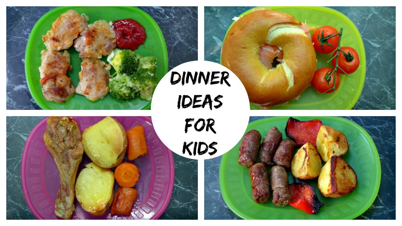 A Week Of Dinner Ideas For Kids