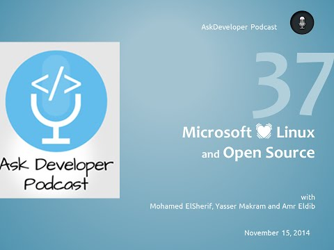 Ask Developer Podcast - EP37 - Microsoft .net going Open Source