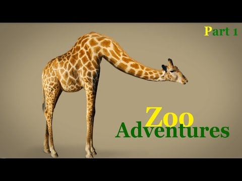 Animal Adventure Park! Learn The Animals At The Zoo - Part 1