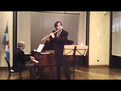 Ernesto Köhler: Valse Espagnole op. 57. Sergio Zampetti, flute - Claudio Zampetti, piano