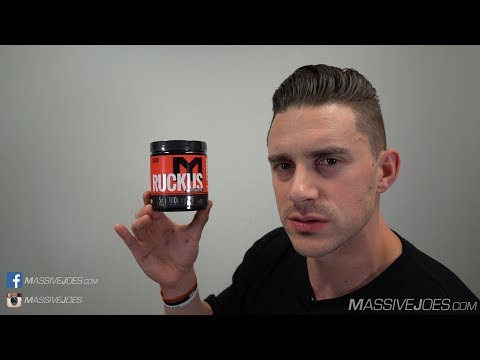 MTS Nutrition RUCKUS Pre-Workout Supplement Review - MassiveJoes.com Raw Review
