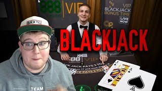 High stakes blackjack & making friends with the dealers