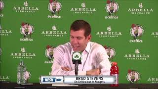 Brad Stevens after the Celtics loss to the Nuggets