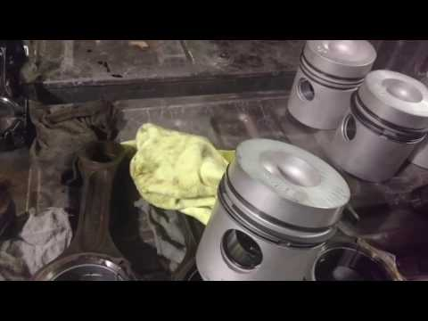 John Deere 5010 engine rebuild.