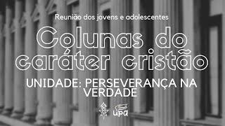 REUNIÃO JOVENS E ADOLESCENTES