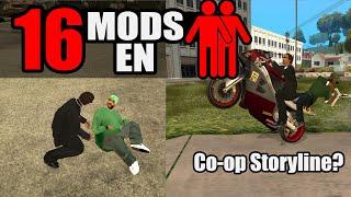Mods compatibles con el modo 2 jugadores de GTA San Andreas PC