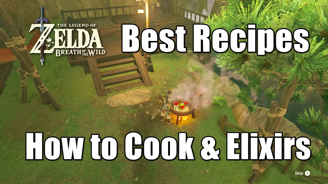 Zelda breath of the wild best recipes how to cook strong foods and zelda breath of the wild best recipes how to cook strong foods and elixirs forumfinder Image collections