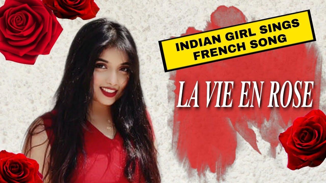 Download LA VIE EN ROSE | (French-English-Hindi Cover)Srushti Barlewar