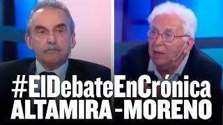 #ElDebateEnCrónica // Jorge Altamira debate con Guillermo Moreno