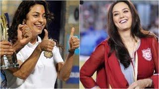 KKR Vs KXIP: Juhi Chawla vs Preity Zinta live commentary