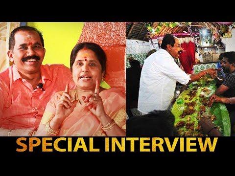 Nanga Commercial ku Varala... | UBM Namma Veetu Saappaadu Karunai Vel & Swarna Lakshmi Interview