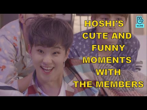 Hoshi Cute And Funny Moments With The Members Seventeen Youtube