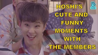 Hoshi Cute and Funny Moments with the Members (SEVENTEEN)