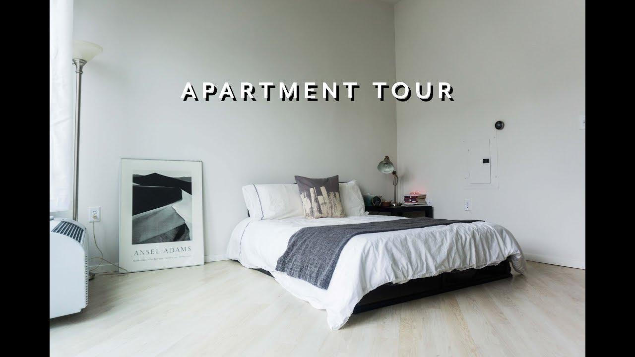 Minimalist Studio Apartment Tour Minneapolis