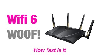 This is proof you need Wifi 6   ASUS RT-AX88U AX6000 Review   Speed Tested, Range, Gaming or Editing