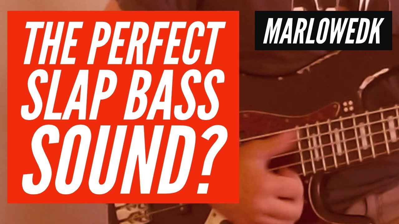 The Perfect Slap Bass sound? string and pedal test