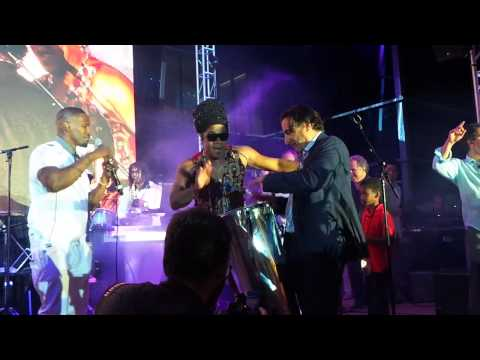 Andy Garcia Jamie Foxx Carlinhos Brown Rio 2 Premiere Party