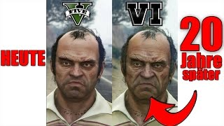 So sehen Trevor, Michael, Franklin in GTA 6 aus !!!