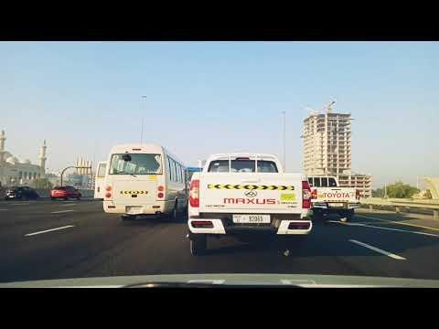 From Al Wasl Road to Dubai Hills | Safe Driving | April 15, 2021