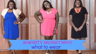 Sorority Recruitment | What to Wear! Thumbnail