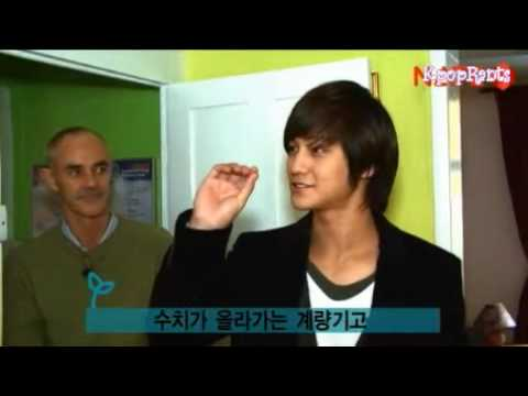 091223 - Kim Bum visits Eco House in London