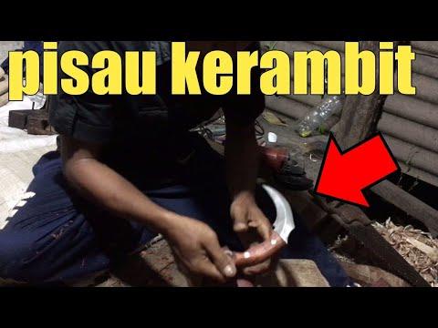 Membuat gagang/sarung pisau kerambit part1