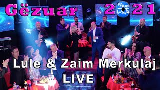 Lule & Zaim Merkulaj - Po Te Pres LIVE ( Official Video 4K ) (Gëzuar 2021)