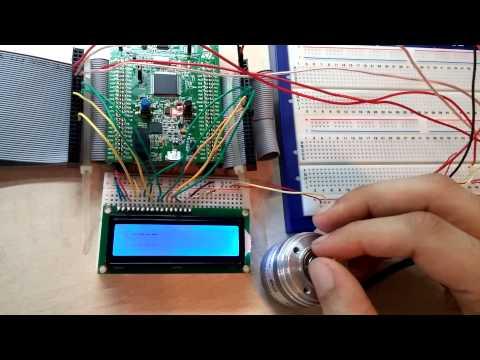 STM32F4 - Rotatory Digital Encoder