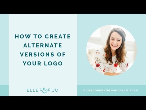 How to Create Alternate Variations of Your Logo
