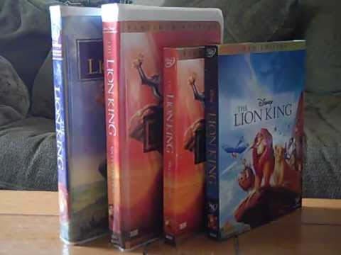 4 Different Versions of The Lion King