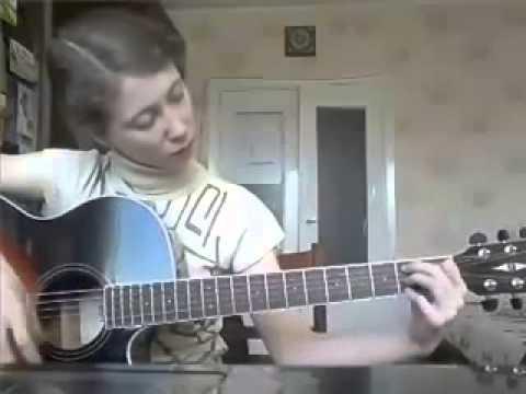 мастер класс игры на гитаре от ученицы заочной школы В. Юдиной