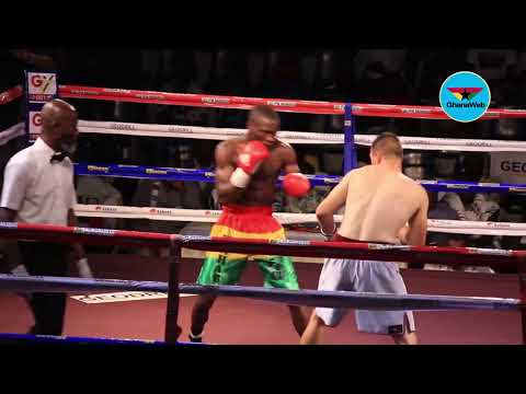 Azumah Nelson Fight Night: Ghana's Wahab knocks out UK's John Hakes
