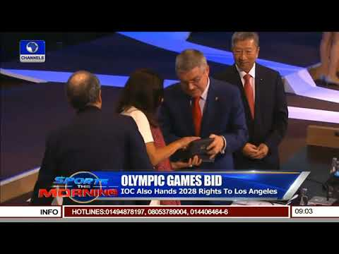 Olympians Celebrate LA Hosting Rights | Sports This Morning |