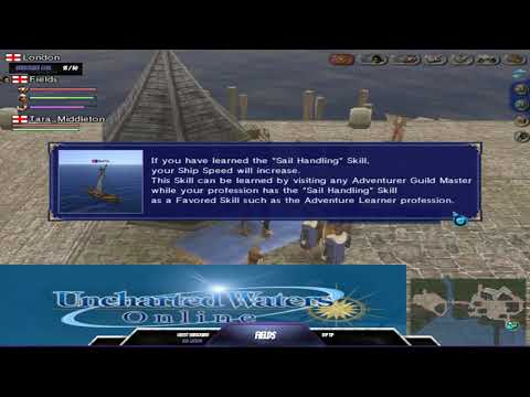 Uncharted Waters Online: London Beginner Adventure School