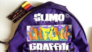 Graffiti canvas ◊◊◊ Graffiti backpack