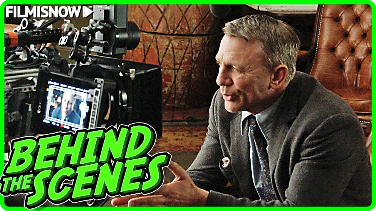 KNIVES OUT (2019) | Behind the Scenes of Daniel Craig Mystery Movie