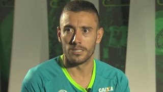 Chapecoense survivor making most of life
