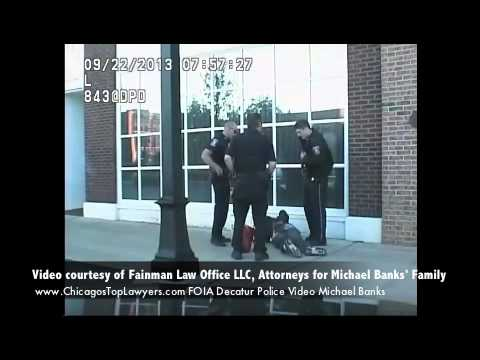 Police Brutality in Decatur,  Illinois
