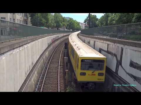 Metro/U-Bahn of Berlin, Germany 2017