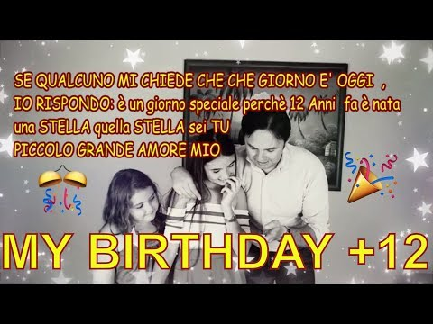 VLOG IL MIO COMPLEANNO 12 ANNI | HAPPY BIRTHDAY By Marghe Giulia Kawaii