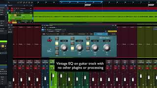 PreSonus Fat Channel Plug-in Demo: Vintage EQ