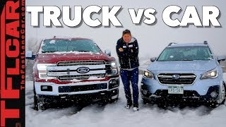 Truck or Car: What