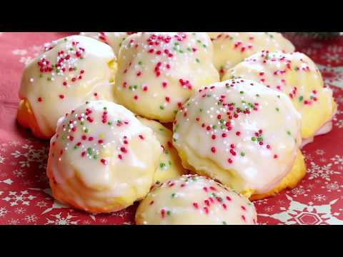 Italian Lemon Drop Cookies